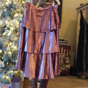 Stunning sequin skirt